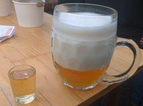 Zdjęcie piwa iśliwowicy