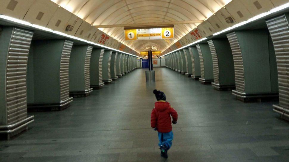 Metro w Pradze